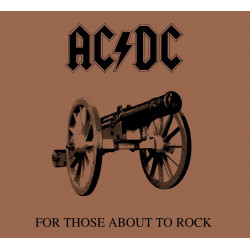 AC/DC - For Those About To Rock We Salute You - LP Vinyle