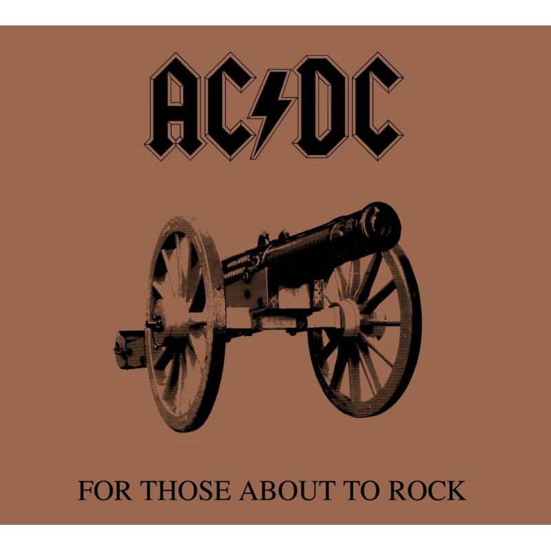 AC/DC - For Those About To Rock We Salute You - LP Vinyl