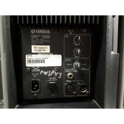 Yamaha MSR400 Black Powered Speakers 400 watt