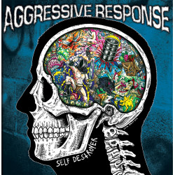 Aggressive Response - Self Destroyer - LP Vinyl