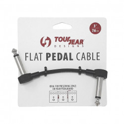 "3"" Flat Pedal Cable S shap TourGear Designs"