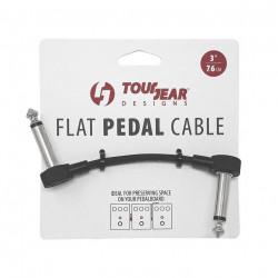 "3"" Flat Pedal Cable S shap TourGear Designs"