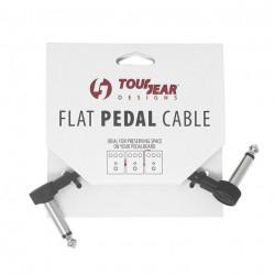 """4"""" Flat Pedal Cable S shape TourGear Designs"""