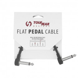 "3 Pack 6"" Flat Pedal Cable S shape TourGear Designs"