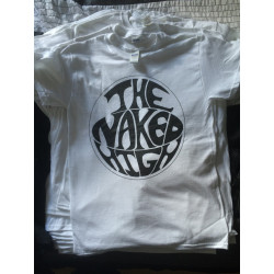 The Naked High - White T-Shirt - Logo