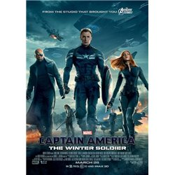 Capitaine américa- the winter soldier - Blu-ray