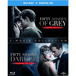 fifty shades 1 and 2 - Blu-ray/HD
