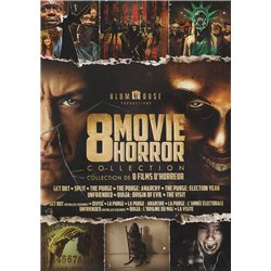 8 movie horror collection - DVD