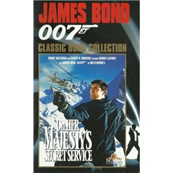 james bond on her masjesty's secret service - DVD