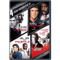 Lethal weapon 1 to 4 - DVD