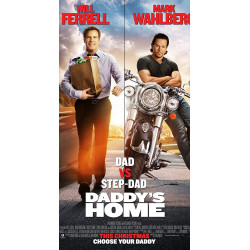 dad vs stepdad- DVD/Blu-ray