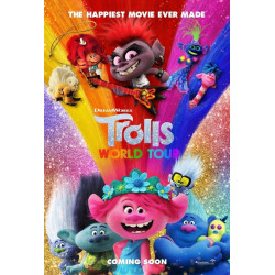 trolls world tour - DVD