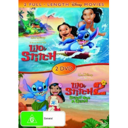 Lilo et stitch 1 and 2 - DVD
