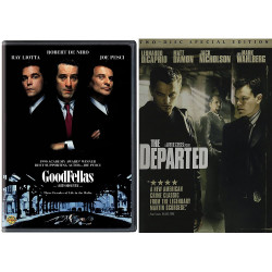 goodfellas/ the departed - DVD