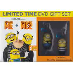 despicable me 1 & 2 + DVD...