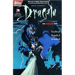 Dracula ( Topps comics ) No. 2 Year 1992