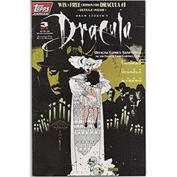 Dracula ( Topps comics ) No. 3 Year 1992