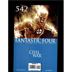 Fantastic Four  No. 542 Year 2007