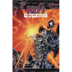 Kiss Psycho Circus No. 11 Year 1998