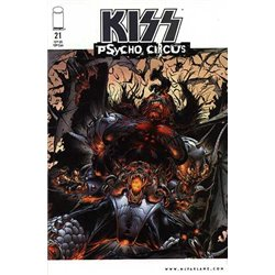 Kiss Psycho Circus No. 21 Year 1999