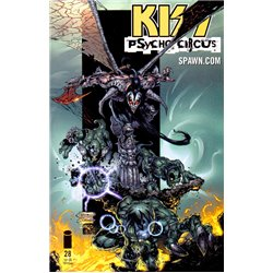 Kiss Psycho Circus No. 28 Year 1999