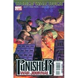 Punisher War Journal  No. 12 Year 2007