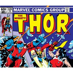 The Mighty Thor  No. 328 Year 1983