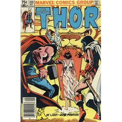 The Mighty Thor  No. 335 Year 1983