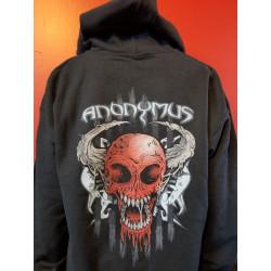 Anonymus - Hoodie - Skull