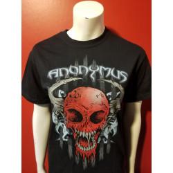 Anonymus - T-Shirt - Skull