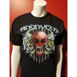 Anonymus - T-Shirt - Skulls