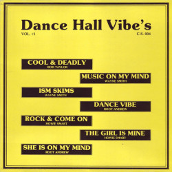 Dance Hall Vibe's Vol. 1 -...