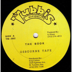 Osbourne Tafe - The Book -...