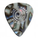 Planet Waves Abalone Celluloid Guitar Picks 100 pack, Light