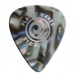 Planet Waves Abalone Celluloid Guitar Picks 10 pack, Heavy