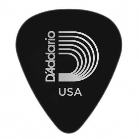 Planet Waves Black Celluloid Guitar Picks, 100 pack, Medium